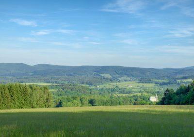 Panorama Słoszów.